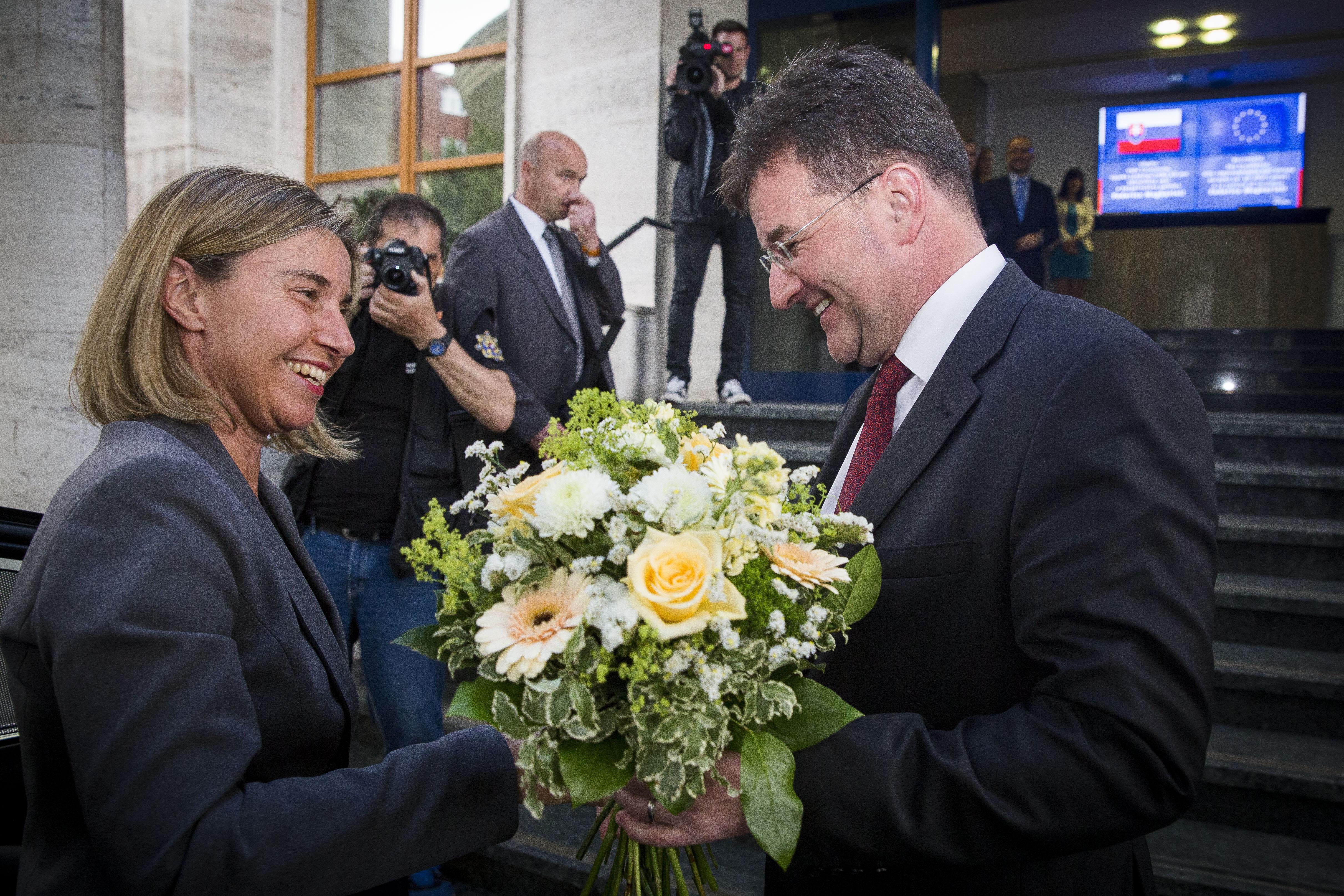 160602 Lajcak Mogherini porada velvyslancov 012