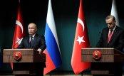 Russian President Vladimir Putin and Turkish President Recep Tayyip Erdoğan