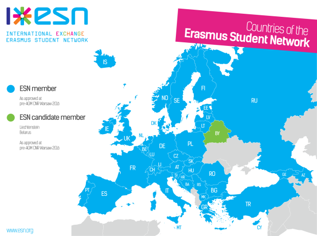ESN-country-map