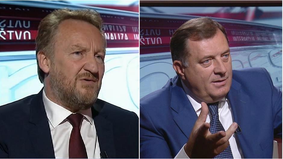 Bakir Izetbegović and Milorad Dodik